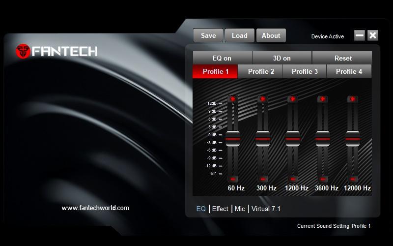 Monberg dk - Fantech CAPTAIN 7 1 Gaming Headset