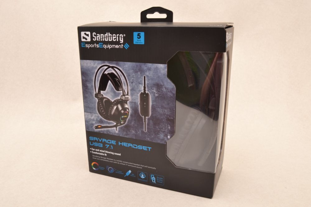 Savage Headset USB 7.1